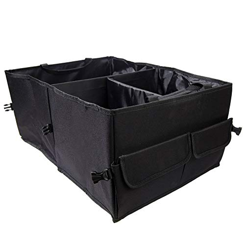 SHKY Multipurpose Portable Cargo Storage Bag-Trunk Organizer for Car Storage - Auto Organizer Best for SUV,Foldable and Waterproof