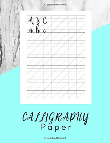 Calligraphy Paper: Hand Lettering Calligraphy Book - 160 sheet pad