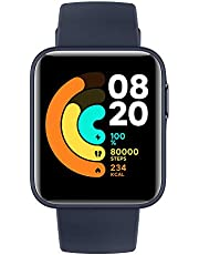 Xiaomi Mi Watch Lite Smart-polshorloge, lcd-TFT-display, 1,4 inch, tot 9 dagen autonomie met één lading, geïntegreerde GPS, bewaking van 11 sporten, marineblauw, Italiaanse versie