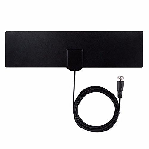 Indoor-Free-TV-Surf-Radius Antena Digital HDTV Kabel-TV Fox-Antenne DVB-T / T2 VHF UHF TVSurf Antenas Receiver + Signal-Verstärker