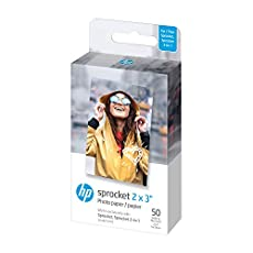 Image of HP Sprocket 2x3 Premium. Brand catalog list of HP. Rated with a 4.6 over 5