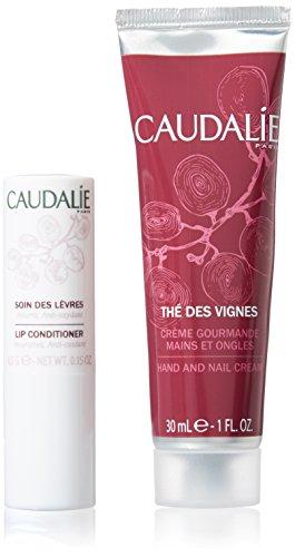 Caudalie Duo Pack Lippenstift Labial 4,5g + Hand- Und Nagelcreme 30ml Thé De Vignes