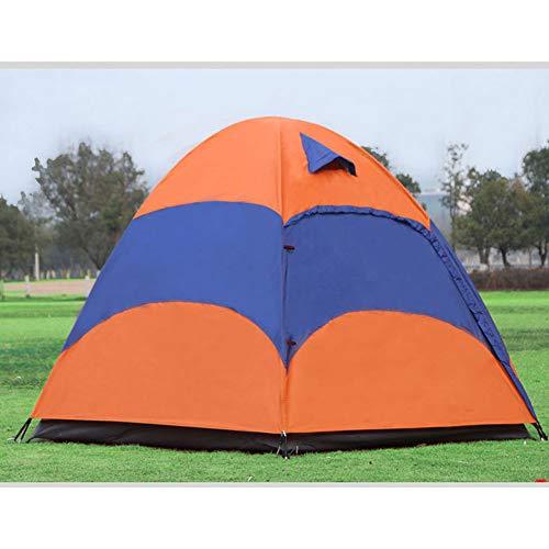 SHUAIGUO 5-8 Person mongolische Jurte-Zelt mit Moskitonetz Wasserdicht Folding Getrennt Double Layer Camping Angeln Sommer-Strand-Zelt