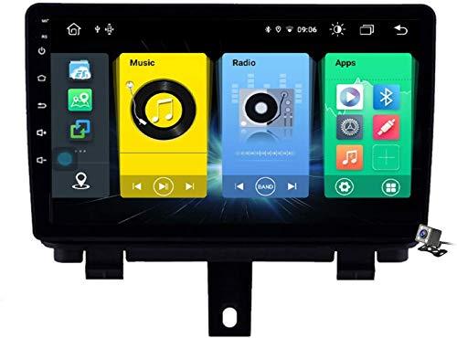 Android 9.1 GPS Navigation Stereo Radio para Audi Q3 1 8U 2011~2018, 9' Pantalla Coche Media Player Soporte Carpaly/5G FM RDS/Control Volante/Bluetooth Hands-Free