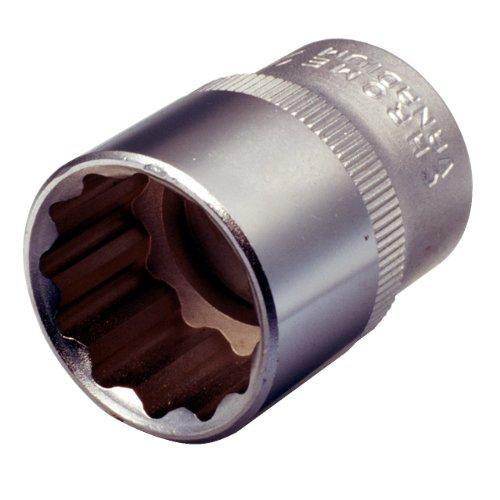 "KS Tools 917.1367 Vaso para tornillos 12 cantos (tamaño: 33 mm, 1/2""), 33mm"