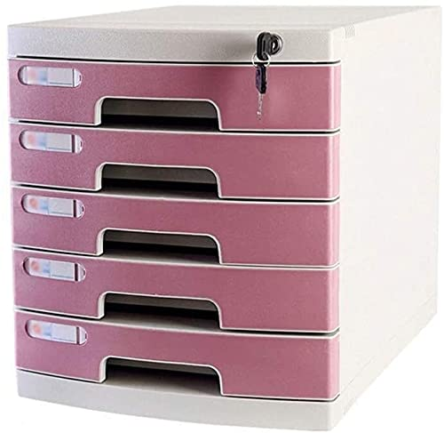 HAO KEAI skrivbordsorganisatör Arkivskåpslåda förvaringsskåp kontorsmaterial Tidiga tidningsställen Anti-off spänne pp plast (Color : A1)