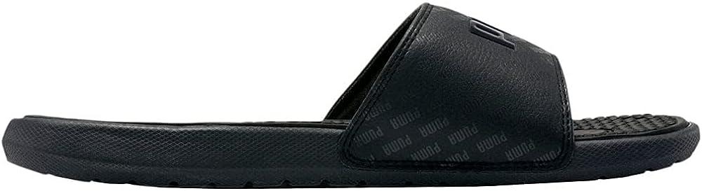 Puma Womens Cool Cat Bold Graphic Slide Sandals Sandals Casual - Black