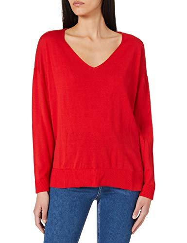 Pepe Jeans Lucy Chaqueta, Rojo (244marzo Red), S para Mujer