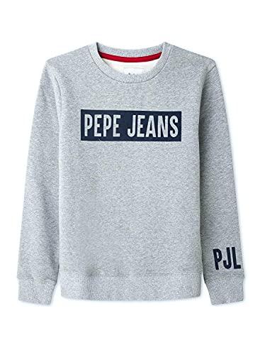 Pepe Jeans Jungen Jamie Pullover, Grey, 14
