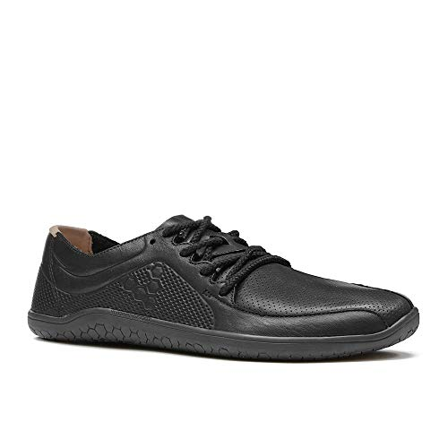 Vivobarefoot Womens Primus Lux Leather Black Trainers 7.5 US