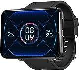 ZHENAO Smart Phone Watch con 2.86 Pantalla Táctil Android 7.1 Wifi Bluetooth Smart Watch Ip67 Smart Watch Smart Watch-1Gb + 16Gb_Sier El mejor regalo/Negro / 1GB+16GB