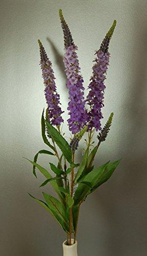 Drie stengels van Kunstzijde Lavendel kleur Amelia Veronica Bloemen