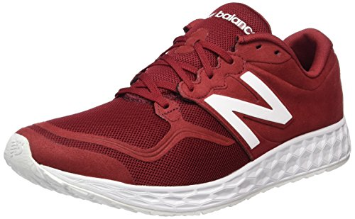 New Balance Herren ML1980-RW-D Laufschuhe, Rot (Red/White), 41.5 EU