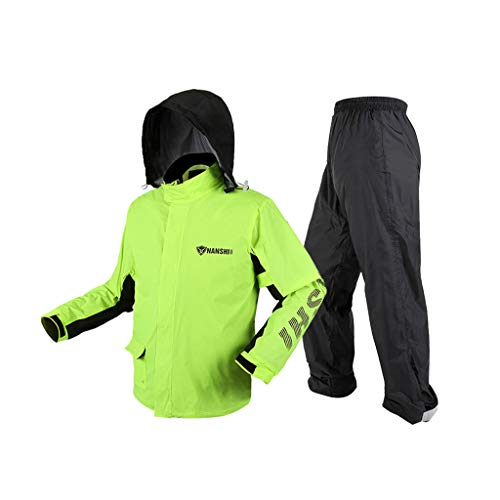 LSLS Chubasquero lluvia Impermeables y chaquetas de lluvia Pantalones transpirables e impermeables Trajes Adultos Split Split a prueba de viento Sección delgada de escalada al aire libre Unisex Poncho