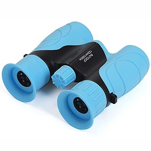 Binoculares Impermeables para niños: 8x21, binoculares Resistentes, Ideales para la matrícula de Navidad, Pascua o Escuela