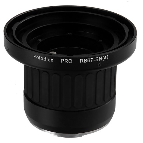 Fotodiox Pro Adaptor de Montura de Lente para Lente Mamiya RB67 a...