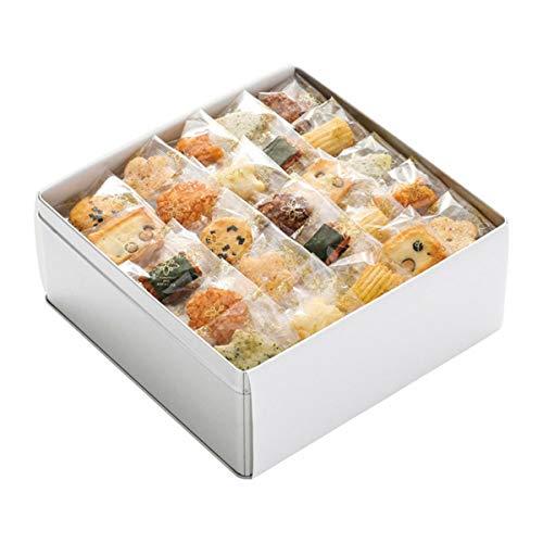 あげ餅 十菓撰 小缶 可愛いひと口タイプのおかき 詰め合わせ (大缶) 国産もち米あられ1個セット