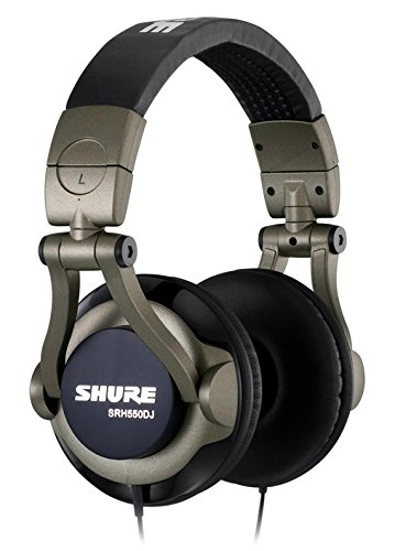 Lowest Price! Shure SRH550DJ Professional Quality DJ Headphones (Smokey Grey)