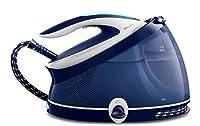 philips ferri a vapore gc9324/20, ferro da stiro con caldaia perfectcare aqua pro, tecnologia optimaltemp, colpo vapore 440g, pressione 6.5 bar, 2100 w, 2.5 litri, blu/bianco