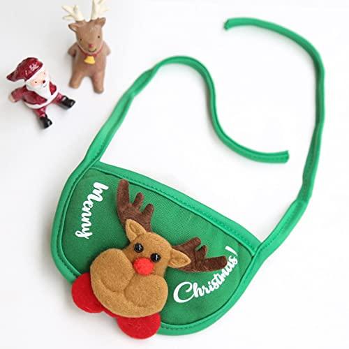 Prasacco Gato perro sombrero de Navidad y bufanda cachorro gato Cosplay traje accesorio de vacaciones traje de Navidad adorable y cálido
