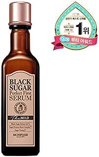 Skinfood black sugar perfect first serum the mild/黒糖完璧な最初の血清マイルド/120ml + 60ea [並行輸入品]