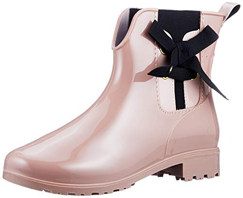 Tom Tailor Womens 9092303 Rain Boot Bootie Boot, Old Rose, 5.5 UK