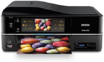 Epson Artisan 835 Wireless All-in-One Color Inkjet Printer Copier Scanner Fax  C11CA73201