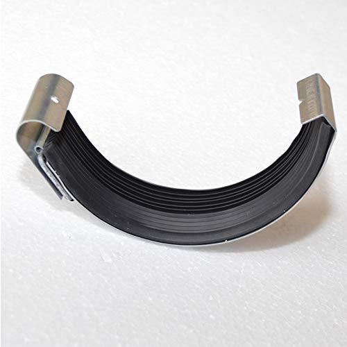 Dachrinnenverbinder für Dachrinne Titanzink Zink Größe 6-tlg / 333-153mm