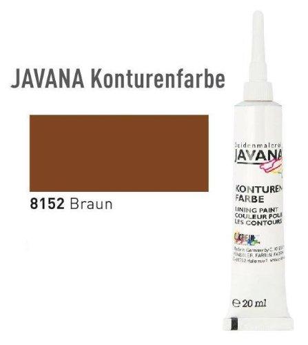 JAVANA Konturenfarbe 20 ml Braun