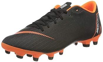 Nike Men s Mercurial Vapor XII Academy Mg Footbal Shoes  Black/Total Orange-W 081  9 UK