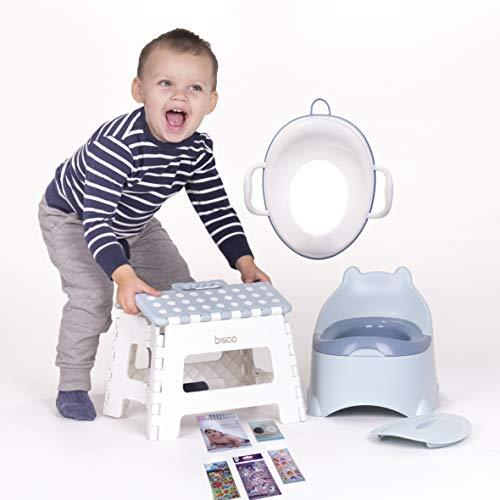 Bisoo - Set Total - Orinal Infantil + Adaptador Reductor WC Niños...