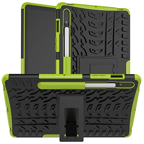 KATUMO Hulle fur Samsung Galaxy Tab S7 11 Zoll Schutzhulle mit Standfunktion Hybrid Cover Tablet S7 2020 Stosfest Robust Case SM T870T875