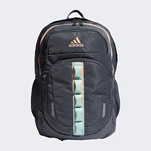 adidas Unisex Prime Backpack, Onix/ Clear Mint/ Glow Pink, ONE SIZE