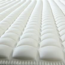 SlipX Solutions Cream Pillow Top Plus Safety Bath Mat Provides The Very Finest in Cushioned Comfort and Slip-Resistance (Over 700 Air-Filled Pockets, 200 Suction Cups, Natural Rubber)