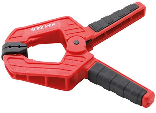 Kraftmann 59820, Kopplingar, 115 mm, Spännområde 0–50 mm, Rörliga Spännband, Manövrering Endast med En Hand Möjlig 115 mm, Klämområde 0–50 mm -