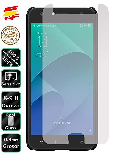 Movilrey Protector para ASUS Zenfone 4 Selfie ZD553KL Cristal Templado de Pantalla Vidrio 9H para movil
