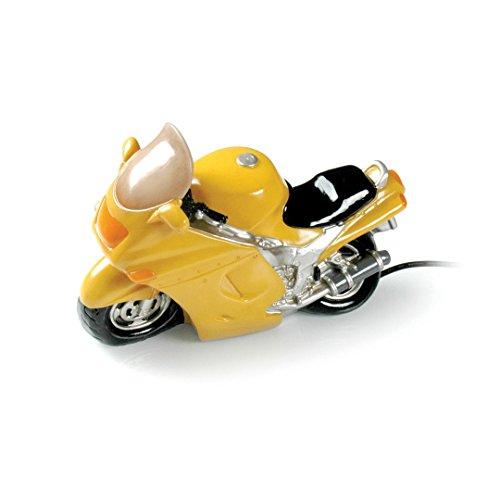 Booster tafellamp motorfiets geel