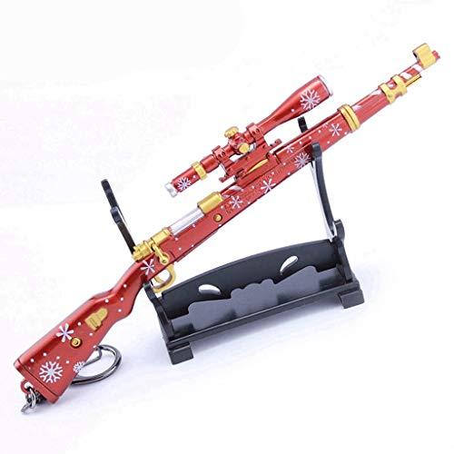 Accesorios De Juegos 1/6 Escala Metal 98K Modelo De Francotirador Pistola Arma Figura De Acción Llavero Juguetes para Accesorios De Figura De Soldado Estadounidense (7)