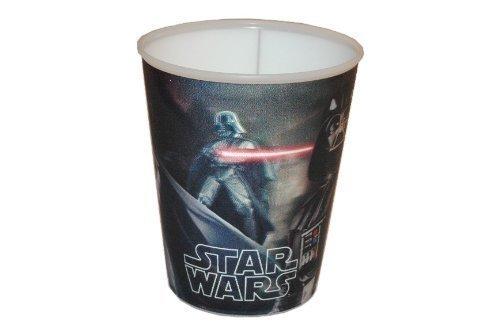 Star Wars 3 in 1 - Trinkbecher / Zahnputzbecher / Malbecher - Becher mit Wackelbild Trinkglas Glas