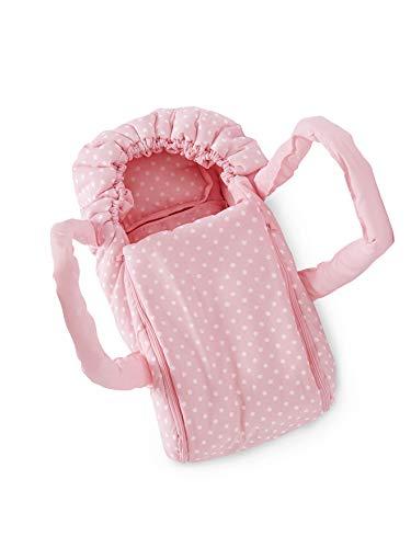 Vertbaudet Puppen-Tragetasche, bis 36 cm rosa ONE Size