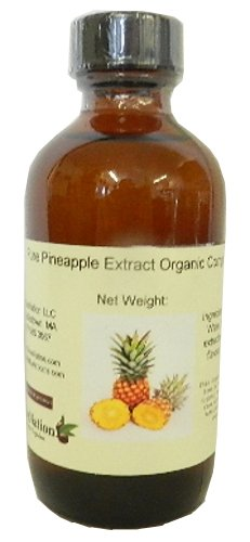 OliveNation Premium Pure Pineapple Extract - Size of 4 ounces