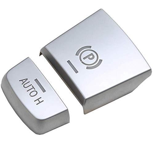 Baalaa Pegatinas para interruptor de freno de estacionamiento para B-M-W F10 F07 F01 F25 F26 F11 F06 F15 F16 X3 X4 X5 X6