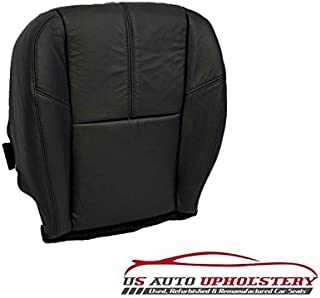 2007-2012 Chevy TahoeDriver Side Bottom Replacement Leather Seat Cover Black