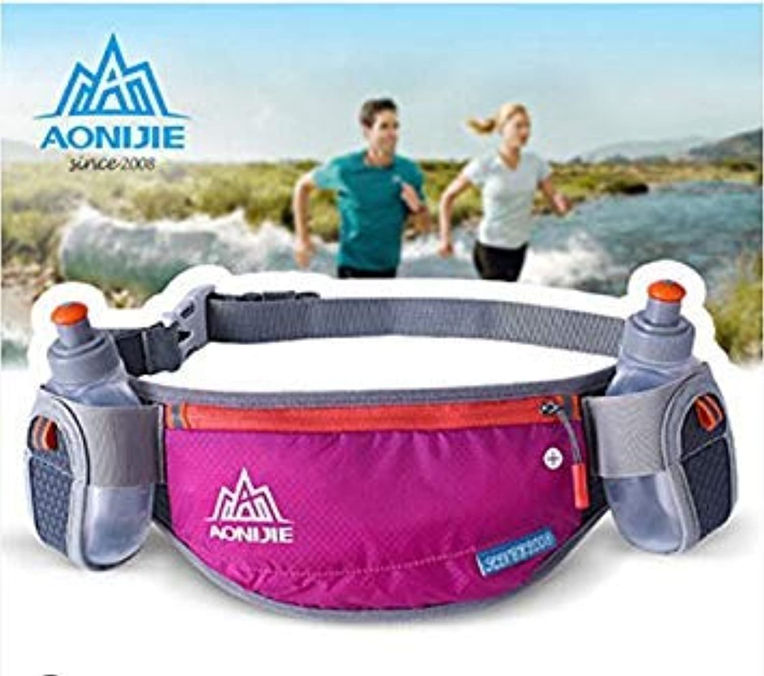 E882 Black   AONIJIE Sports Bag Men Women Running Purse Outdoor Close-Fitting Pocket Wallet Package Travel Free Delivery