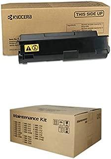 Kyocera BND01087 TK-172 Toner Cartridge and Mk-172 Drum + Developer Unit Kit for FS-1320D FS-1370DN Toner