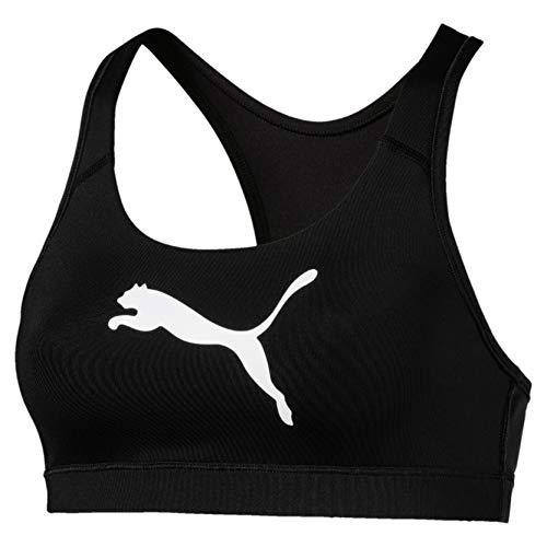 PUMA Damen 4Keeps Bra M Sport Bh 4Keeps Bra M, Schwarz (Puma Black-Cat), 36 (Herstellergröße: S)