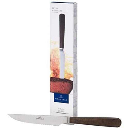Villeroy & Boch 12-7016-0545 Texas Couteau a pizza/steak, Métal