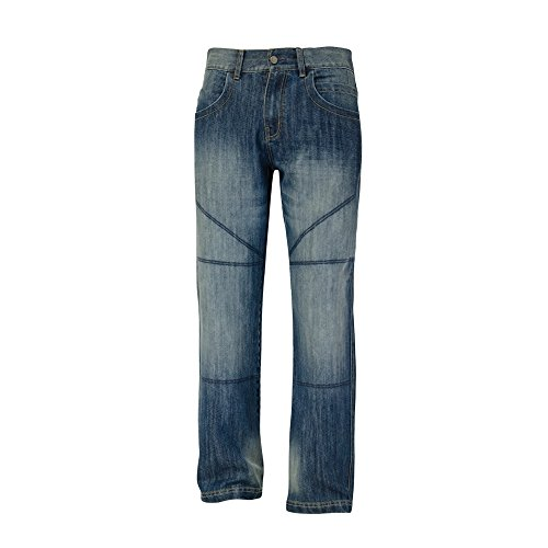 bull-it Herren SR4Ice Motorrad covec Jeans–Blau Regular