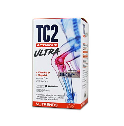 TC2 Actmove ULTRA Colágeno II Vit D + Magnésio (60 Caps)