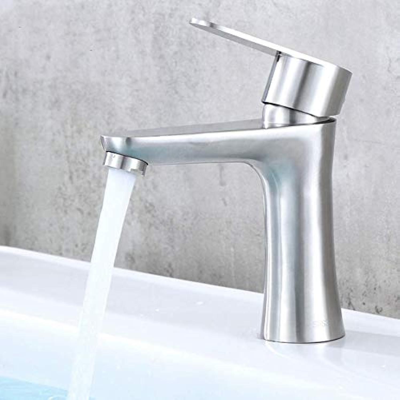 Washbasin Mixer Stainless Steel Hot and Cold Basin Faucet Washbasin Mixer